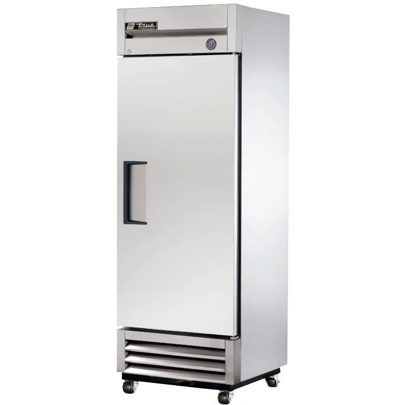 "True T-19F-HC 27"" Single Section Reach-In Freezer w/ (1) Solid Door, Right Hinge, 115v"