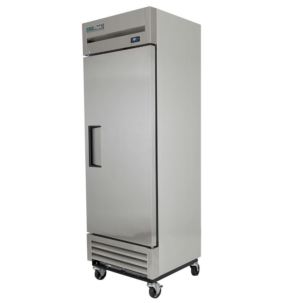 "True T-19FZ-HC 27"" Single Section Reach-In Freezer w/ (1) Solid Door, 115v"