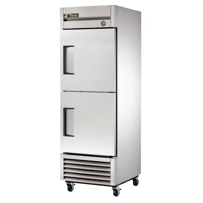 "True T-23F-2-HC 27"" Single Section Reach-In Freezer, (2) Doors, 115v"
