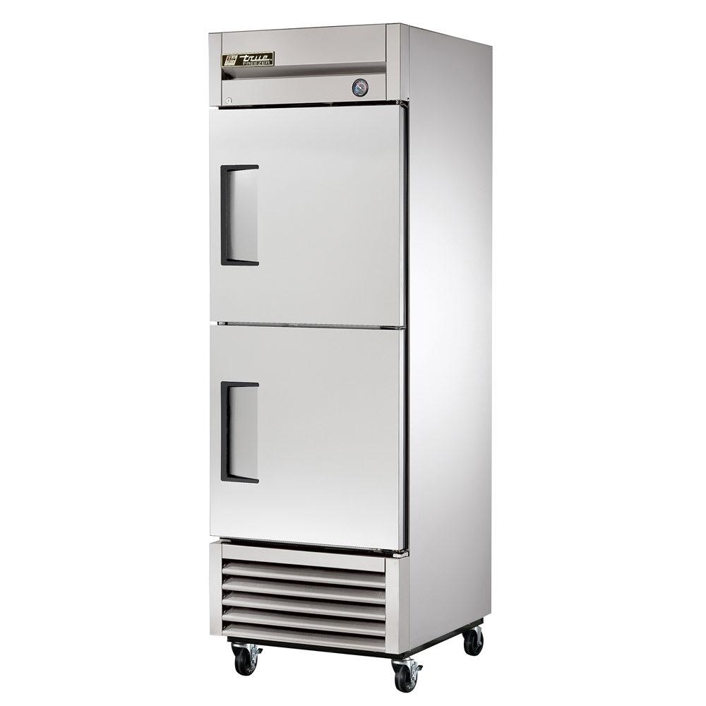 """True T-23F-2-HC 27"""" Single Section Reach-In Freezer, (2) Doors, 115v"""