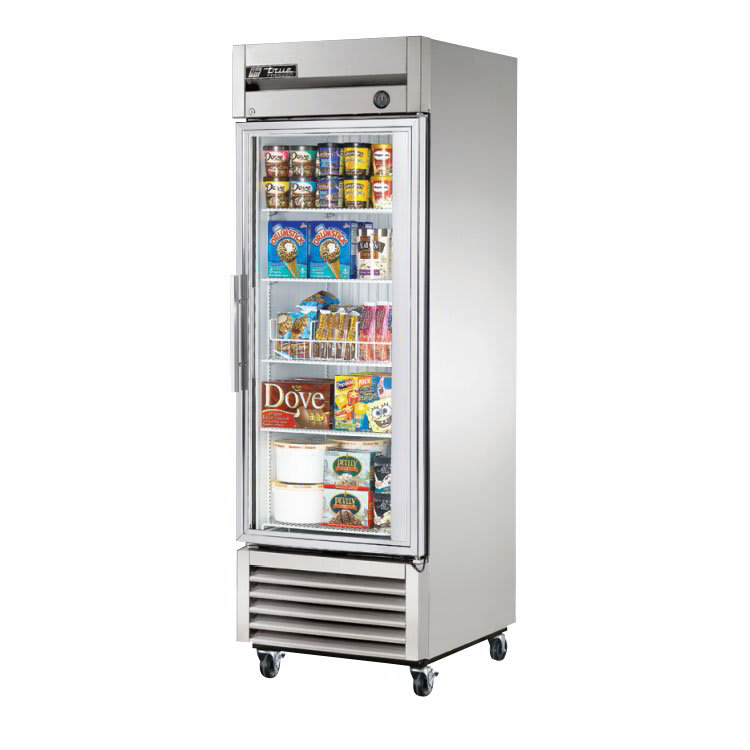 "True T-23FG-LD 27"" Single Section Reach-In Freezer, (1) Solid Door, 115v"