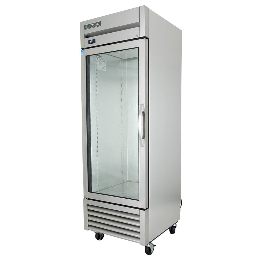 """True T-23G-HC~FGD01 27"""" Single Section Reach-In Refrigerator, (1) Glass Door, 115v"""