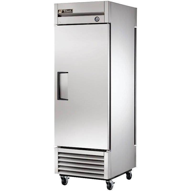 """True T-23PT-HC 27"""" Single Section Pass-Thru Refrigerator, (1) Solid Door, 115v"""
