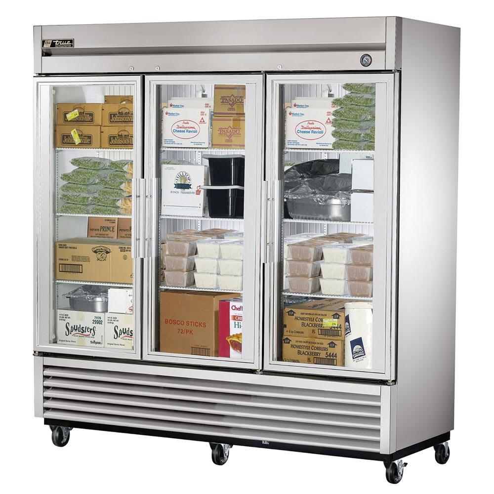True T 72fg Hcfgd01 7813 Three Section Reach In Freezer 3