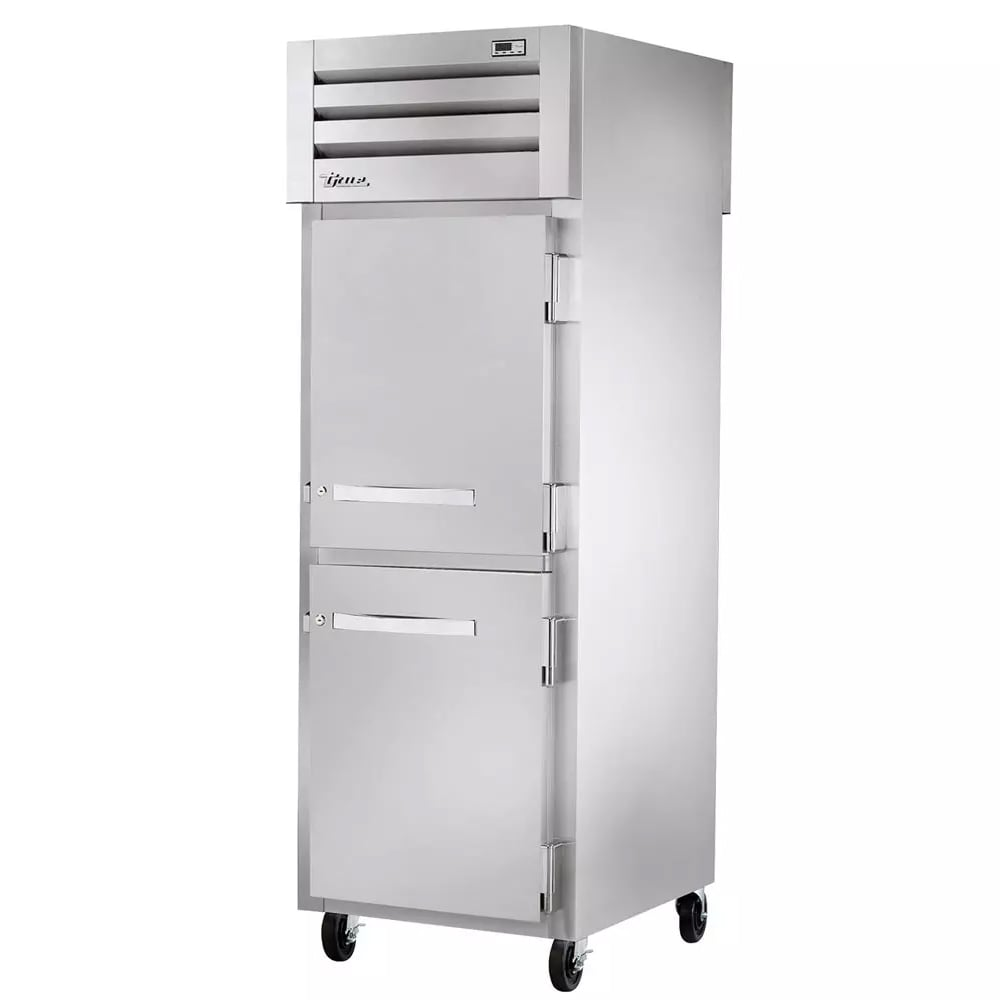 True STA1H-2HS Full Height Insulated Mobile Heated Cabinet w/ (3) Shelves, 208 230v/1ph
