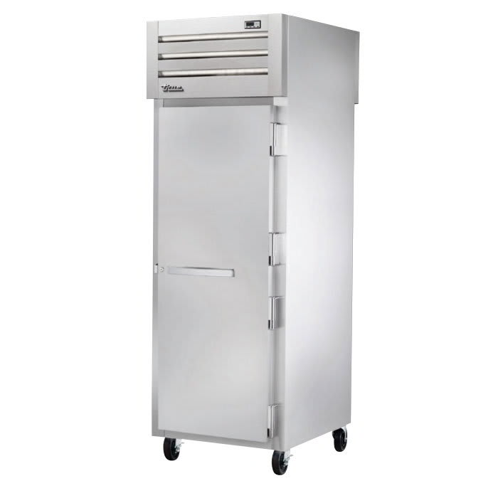 "True STA1HPT-1S-1S 27-1/2"" Pass-Thru Heated Cabinet - 1-Section, 2-Solid Full Doors 208-230v"