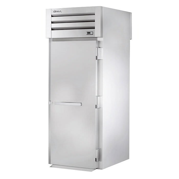 True STA1HRT89-1S-1S Full Height Insulated Roll Thru Heated Cabinet w/ (1) Rack Capacity, 208 230v/1ph