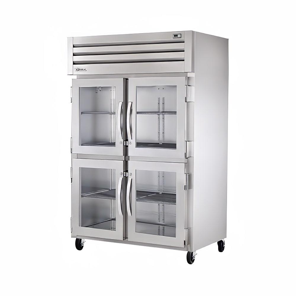 True STA2H-4HG Full Height Insulated Mobile Heated Cabinet w/ (6) Shelves, 208 230v/1ph
