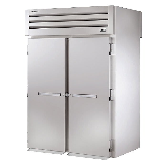 "True STA2HRT-2S-2S 68"" Roll-Thru Heated Cabinet - 2-Section, 4-Solid Full Doors 115/208-230v"