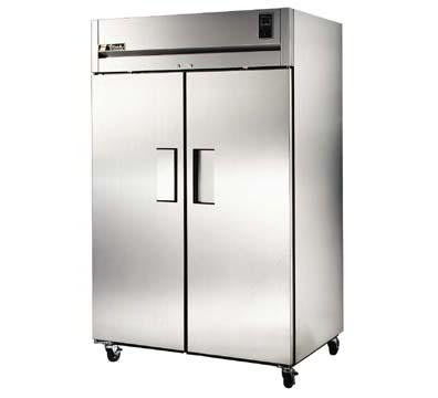 True TA2R-2S 2-Section Reach-In Refrigerator w/ Solid Doors, 56-cu ft