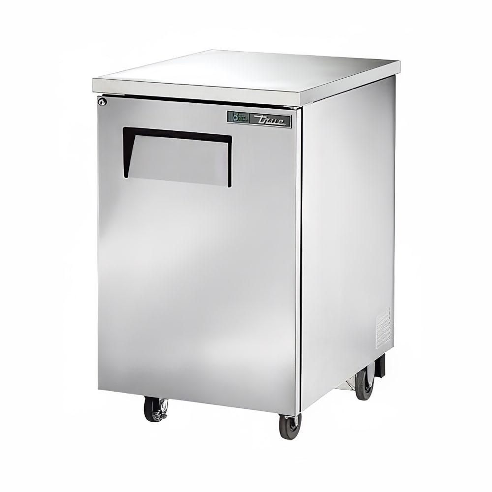 """True TBB-1-S-HC 23.5"""" (1) Section Bar Refrigerator - Swinging Solid Door, 115v"""