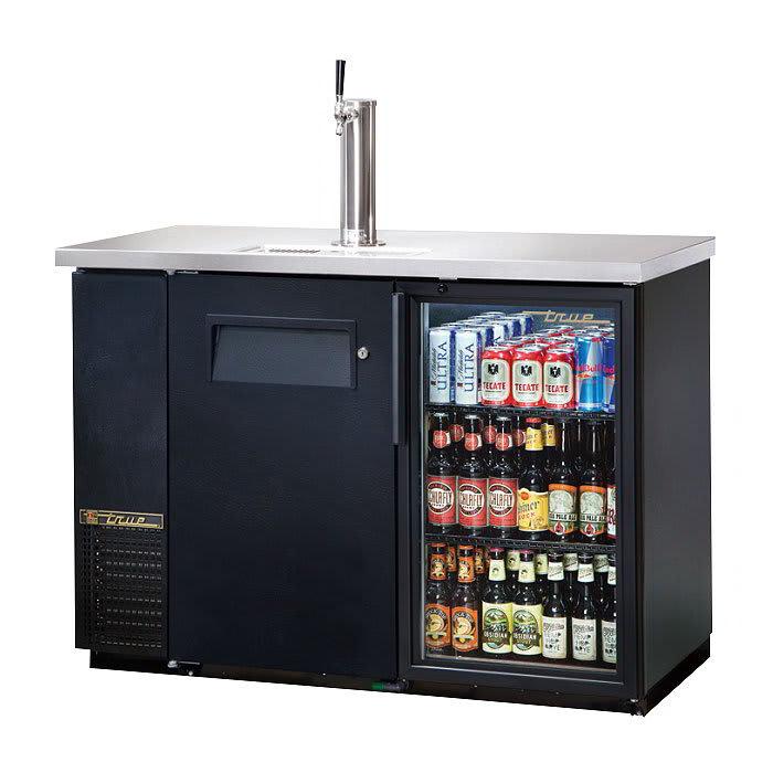 """True TDB-24-48-1-G-1-HC-LD 49"""" Draft Beer System w/ (1) Keg Capacity - (1) Column, Black, 115v"""