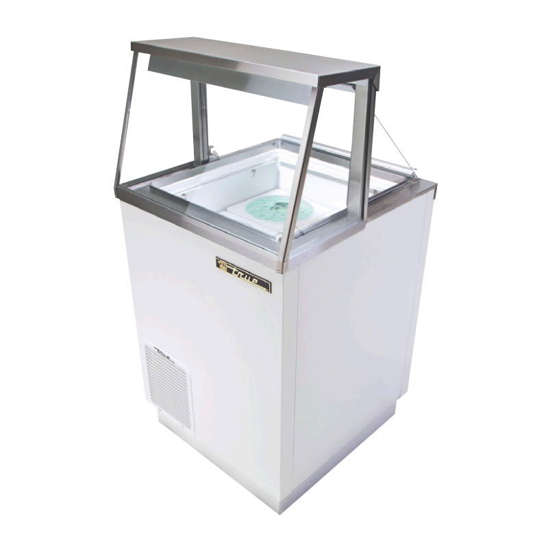 Sungard Exhibition Stand Here Alone : True tdc quot stand alone ice cream freezer w tub