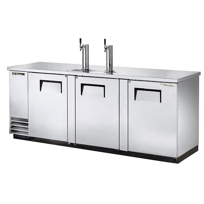 "True TDD-4-S-HC 90"" Draft Beer System w/ (4) Keg Capacity - (2) Columns, Stainless, 115v"