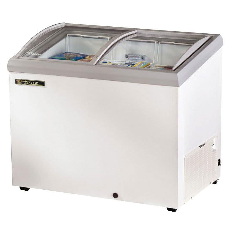 "True TFM-41AL WHT 41.38"" Mobile Ice Cream Freezer, White, 115v"