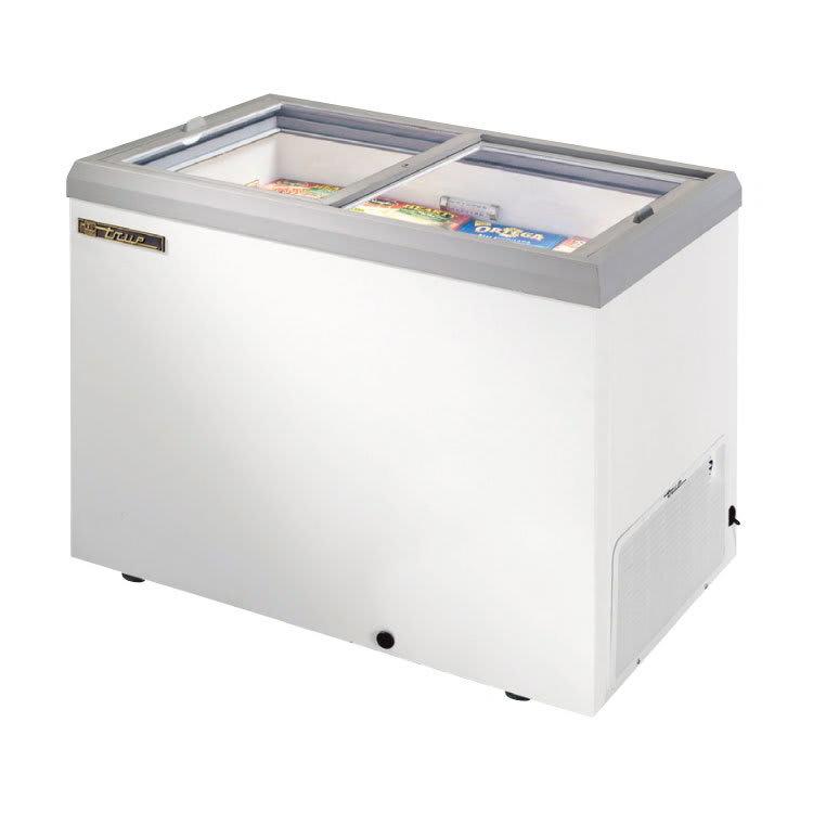 "True TFM-41FL 41.38"" Mobile Ice Cream Freezer, White, 115v"