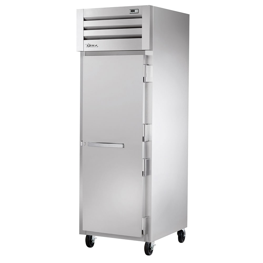 "True STG1H-1S 28"" Roll-In Heated Cabinet - 1-Solid Door, Stainless/Aluminum"