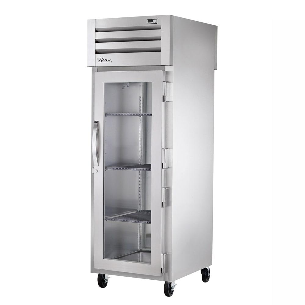 True STG1HPT-1G-1S Full Height Insulated Pass Thru Heated Cabinet w/ (3) Shelves, 208 230v/1ph