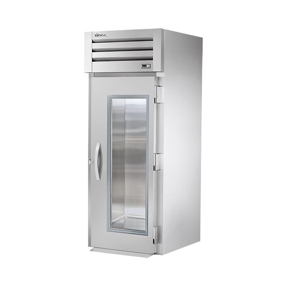 "True STG1RRI-1G 35"" One Section Roll In Refrigerator, (1) Right Hinge Glass Door, 115v"
