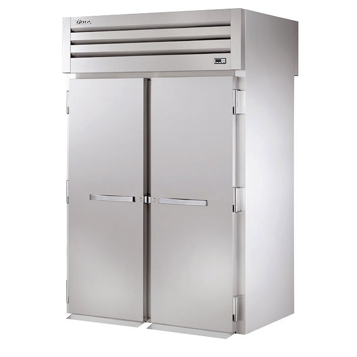 "True STG2RRT89-2S-2S 68"" Two Section Roll-In Refrigerator, (2) Solid Door, 115v"