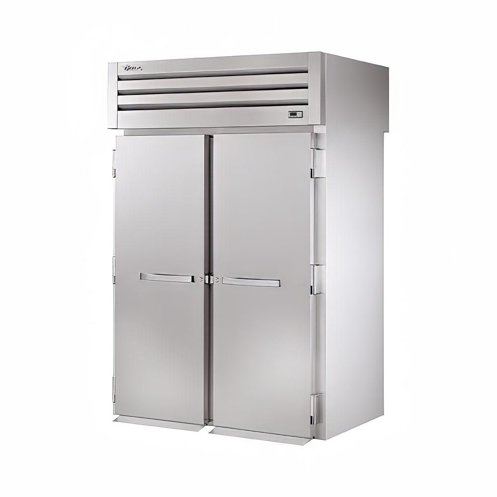 "True STG2RRT89-2S-2S 68"" Two Section Reach-In Refrigerator, (2) Solid Doors, Roll-Thru, 115v"