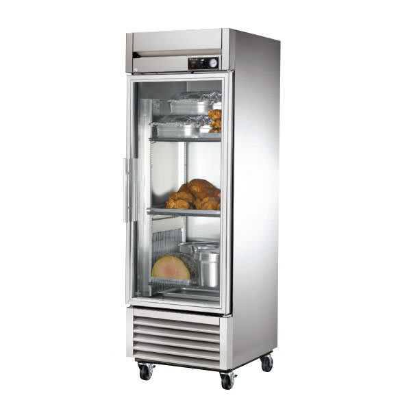 True TH-23G Full Height Insulated Mobile Heated Cabinet w/ (3) Shelves, 115v