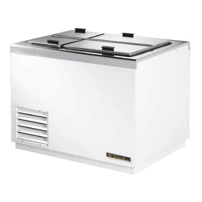 "True THDC-6 43.25"" Stand Alone Ice Cream Freezer w/ 8-Tub Capacity & 5-Tub Storage, 115v"