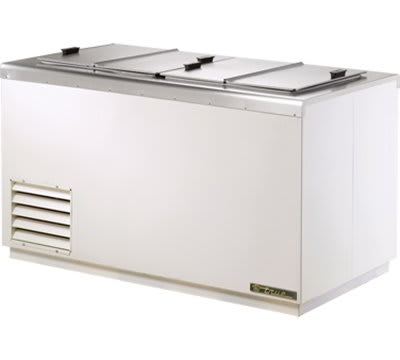 "True THDC-8 54.25"" Stand Alone Ice Cream Freezer w/ 11-Tub Capacity & 8-Tub Storage, 115v"
