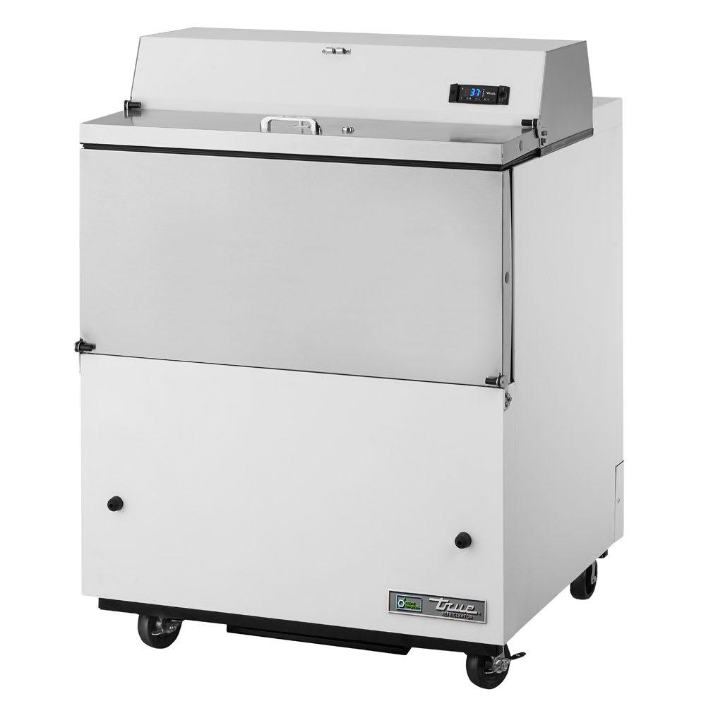 True TMC-34-SS Milk Cooler w/ Top & Side Access - (512) Half Pint Carton Capacity, 115v