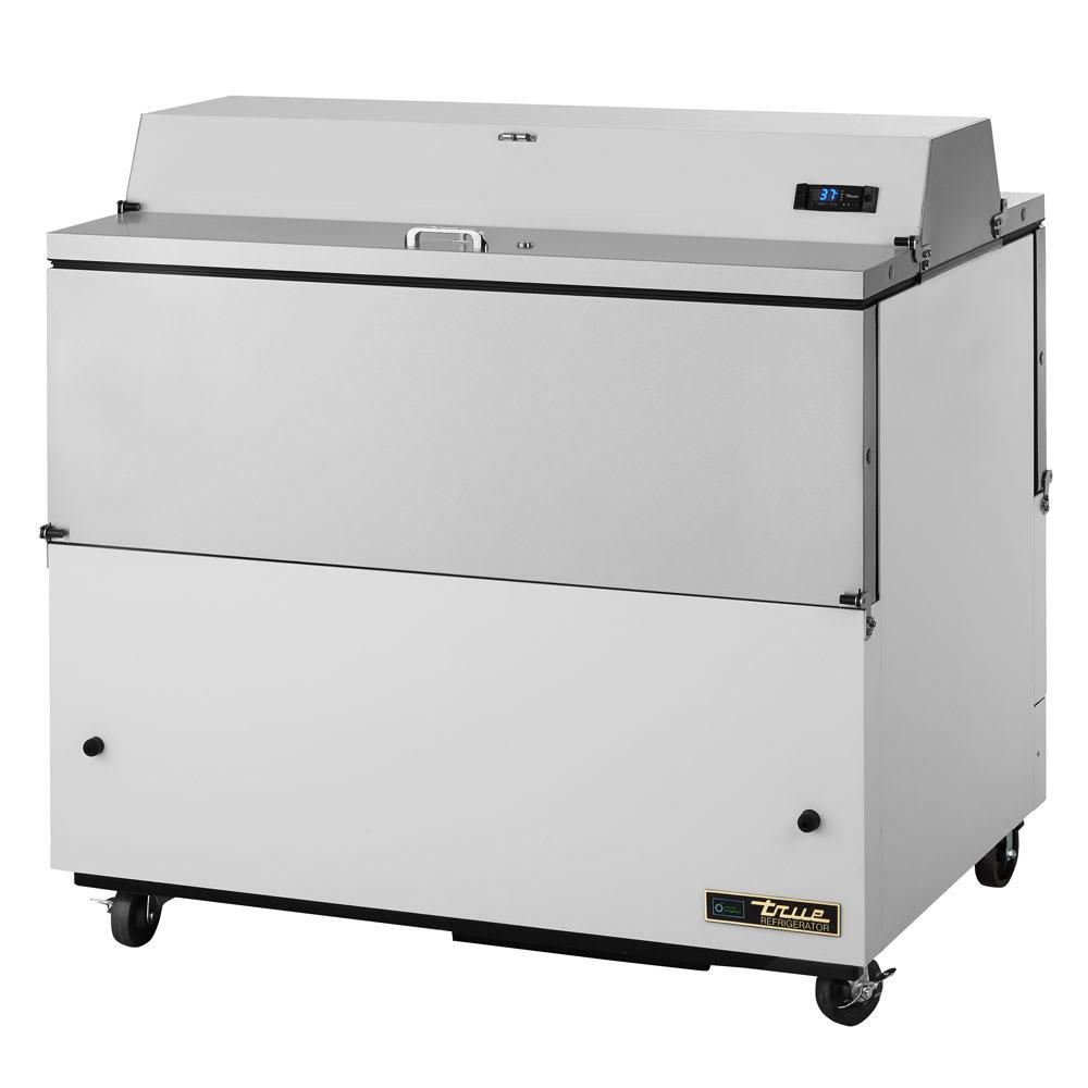 True TMC-49-DS-SS-HC Milk Cooler w/ Top & Side Access - (768) Half Pint Carton Capacity, 115v
