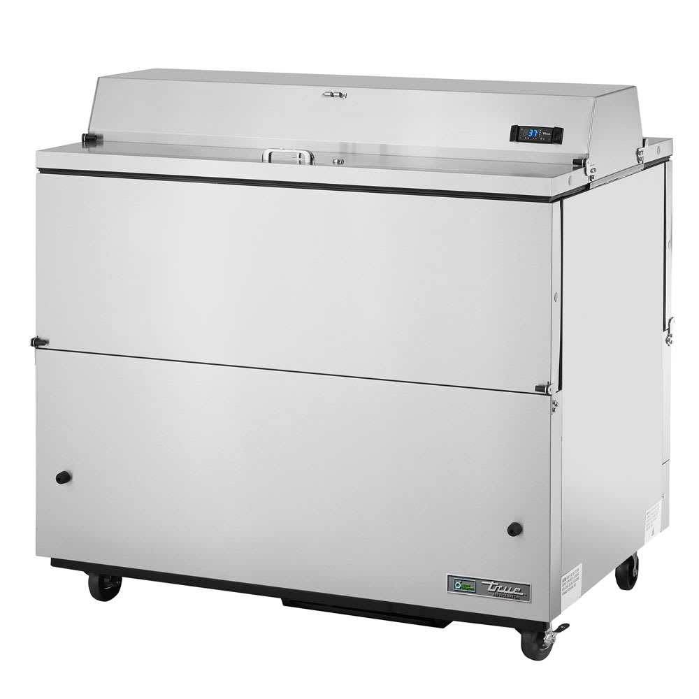 True TMC-49-S-DS Milk Cooler w/ Top & Side Access - (768) Half Pint Carton Capacity, 115v