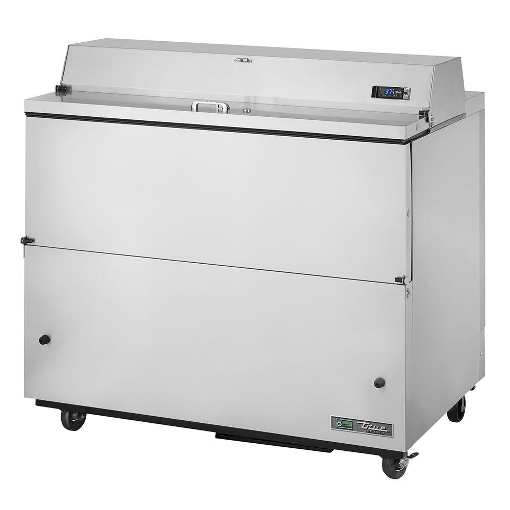 True TMC-49-S-SS-HC Milk Cooler w/ Top & Side Access - (768) Half Pint Carton Capacity, 115v