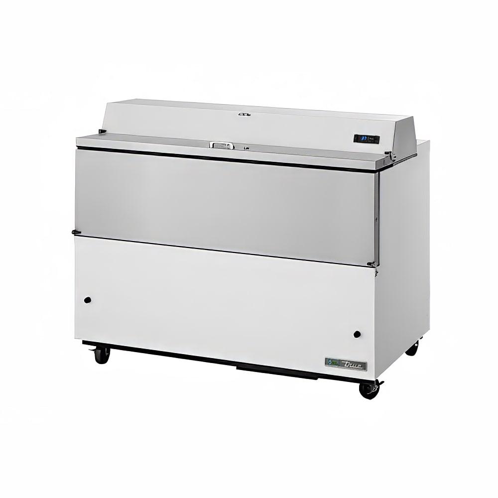 True TMC-58 Milk Cooler w/ Top & Side Access - (1024) Half Pint Carton Capacity, 115v