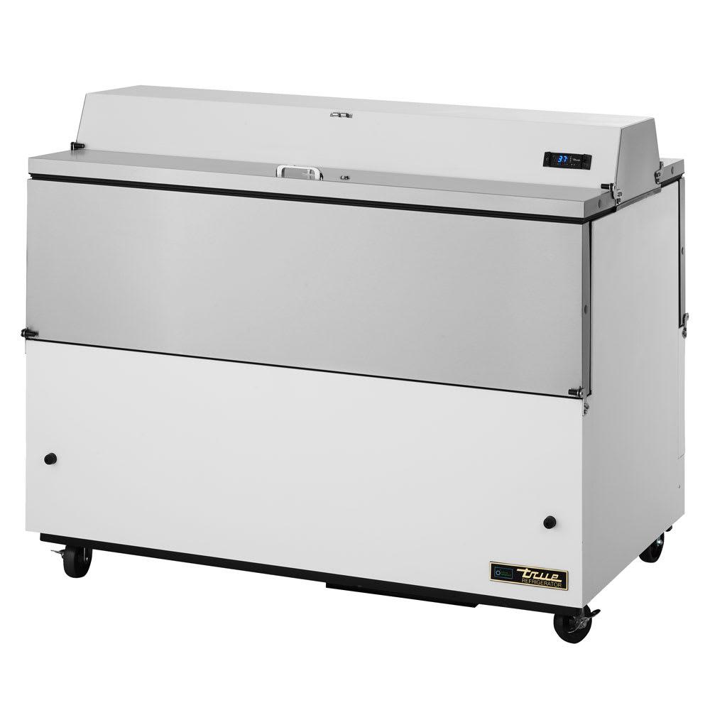 True TMC-58-DS-SS-HC Milk Cooler w/ Top & Side Access - (1024) Half Pint Carton Capacity, 115v