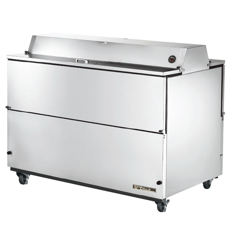 True TMC-58-S-DS-HC Milk Cooler w/ Top & Side Access - (1024) Half Pint Carton Capacity, 115v