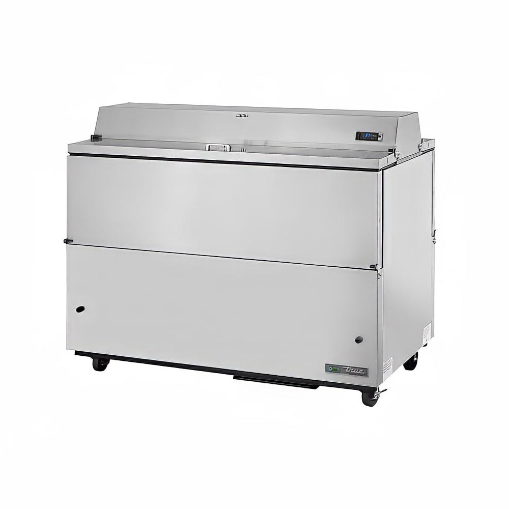 True TMC-58-S-DS-SS-HC Milk Cooler w/ Top & Side Access - (1024) Half Pint Carton Capacity, 115v