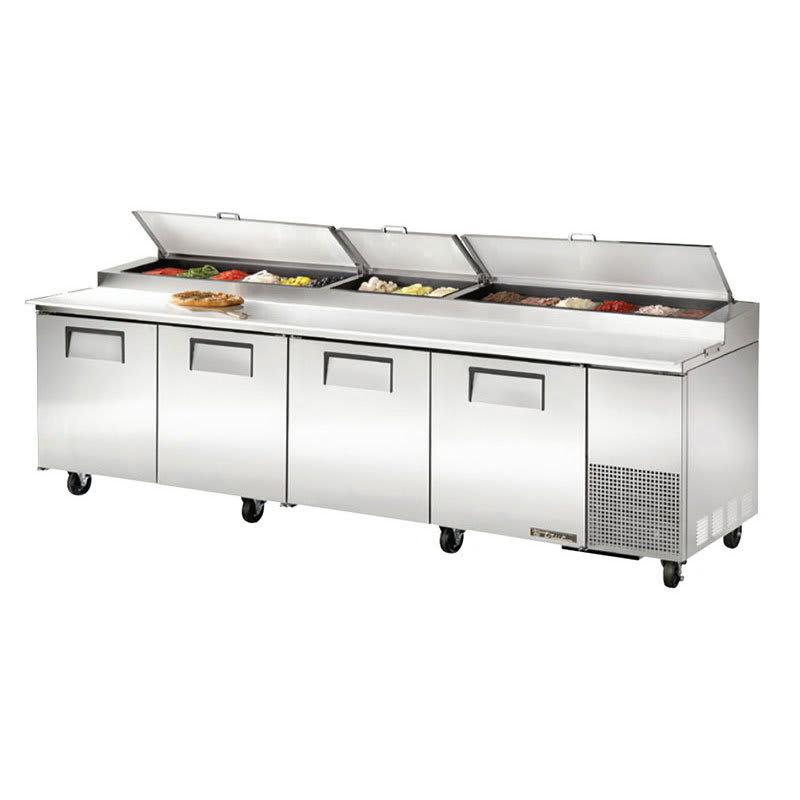 True TPP Pizza Prep Table W Refrigerated Base V - True pizza prep table