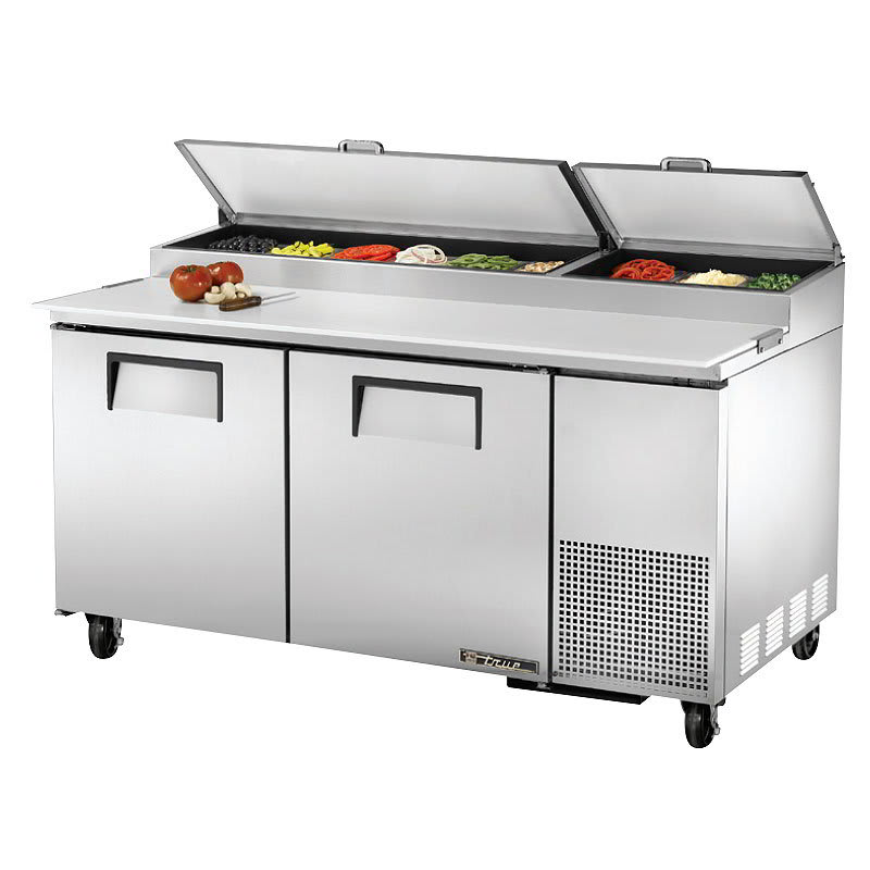 True TPP Pizza Prep Table W Refrigerated Base V - True refrigerated prep table