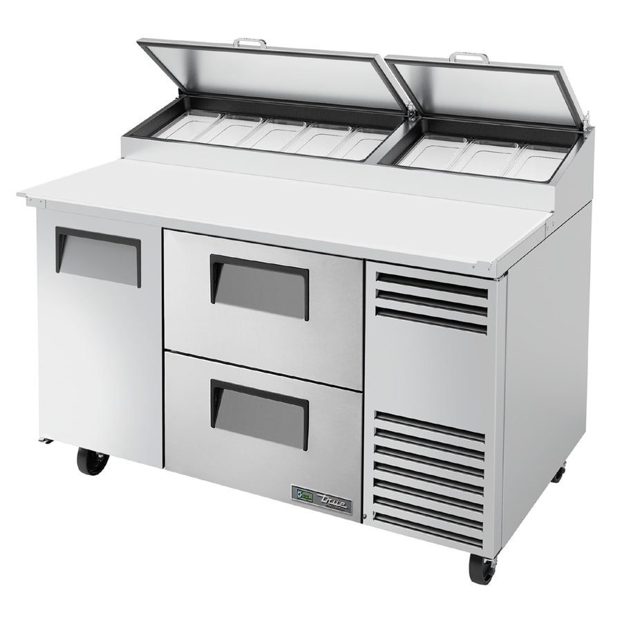 True Tpp At 60d 2 Hc 60 Pizza Prep Table W Refrigerated Base 115v