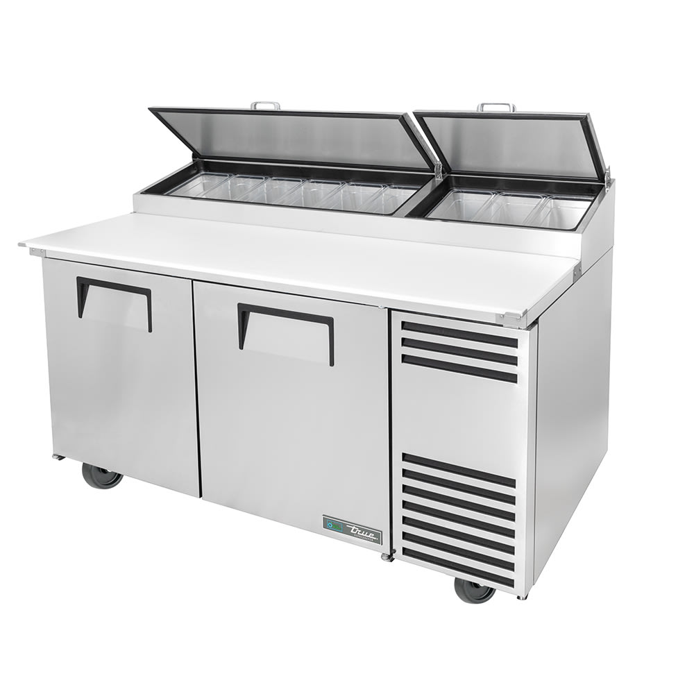 True Tpp At 67 Hc 67 Pizza Prep Table W Refrigerated Base 115v