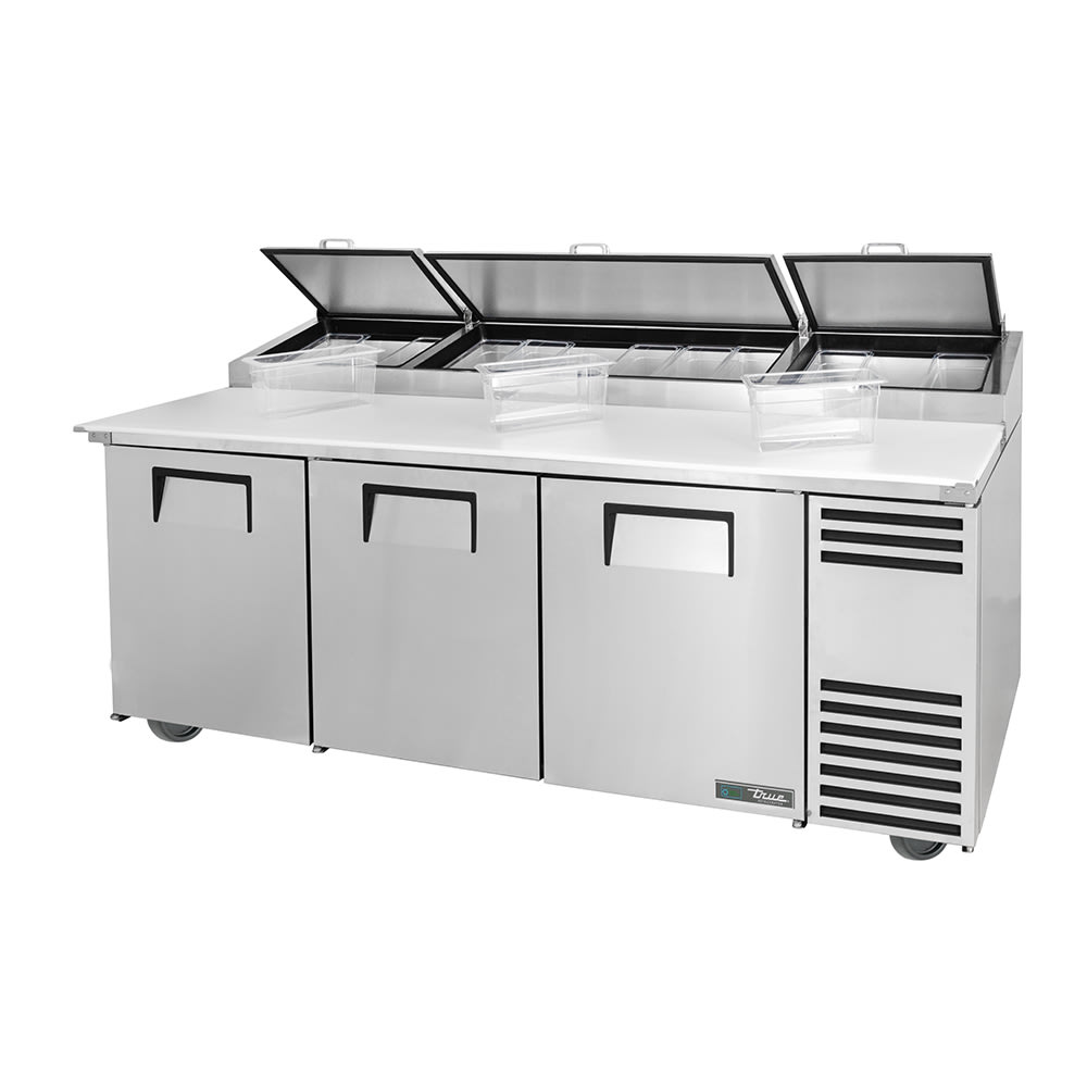 True Tpp At 93 Hc 93 Pizza Prep Table W Refrigerated Base 115v