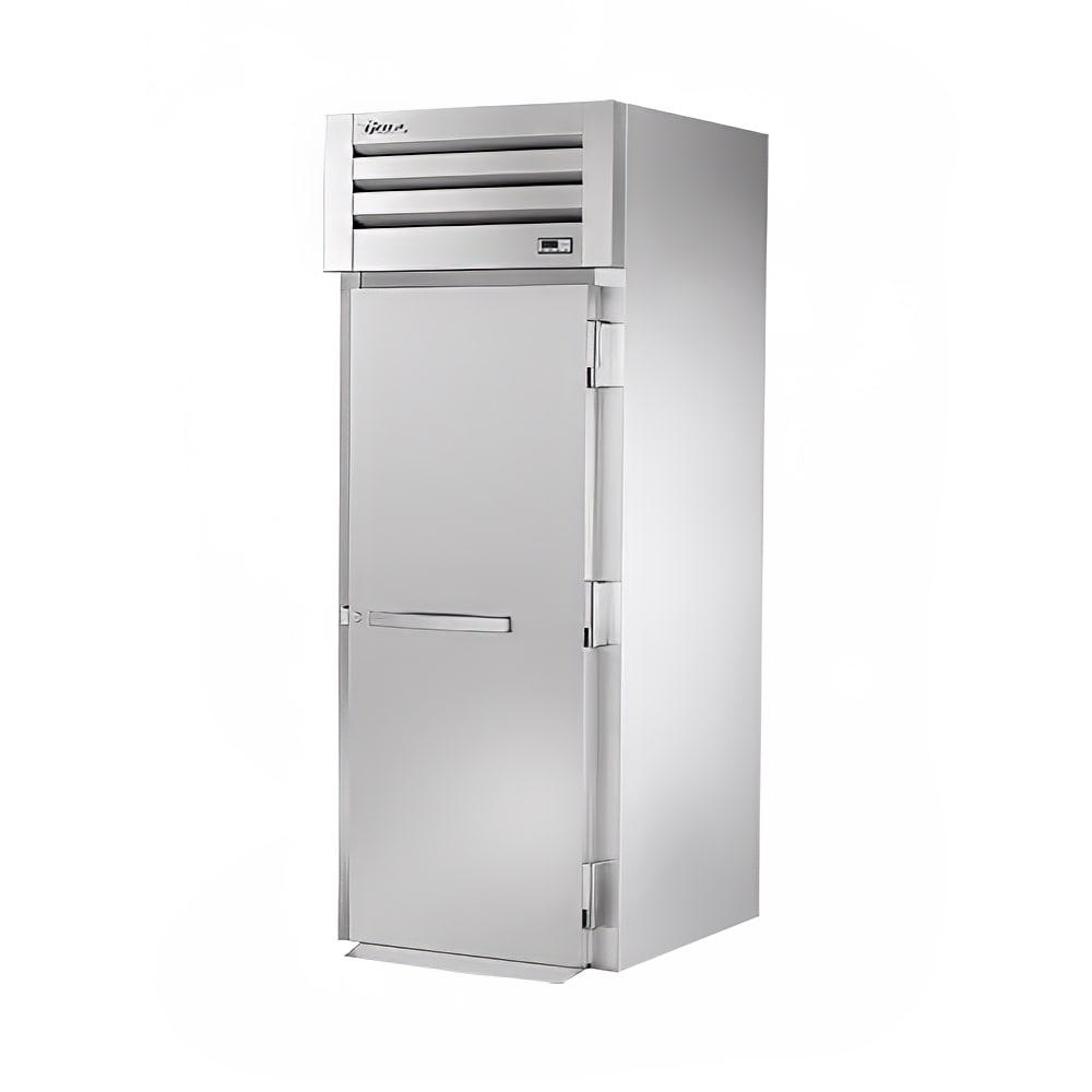 """True STR1RRI-1S 35"""" Single Section Roll-In Refrigerator, (1) Solid Door, 115v"""