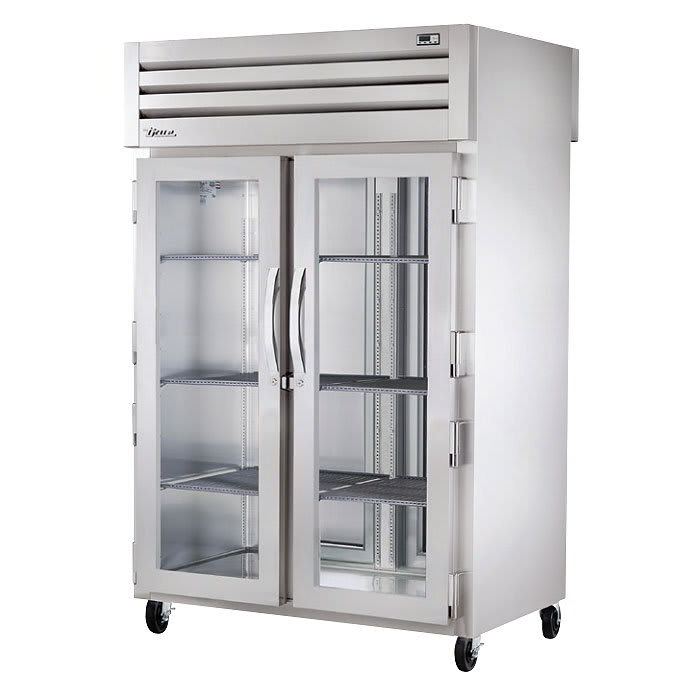 True STR2HPT-2G-2S Full Height Insulated Pass Thru Heated Cabinet w/ (2) Shelf Kits, 208-230v/1ph