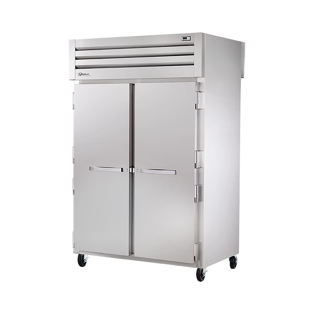True STR2HPT 2S 2S Full Height Insulated Pass Thru Heated Cabinet W/ (2)  Shelf Kits, 208 230v/1ph