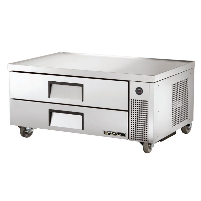 "True TRCB-52 52"" Chef Base w/ (2) Drawers - 115v"