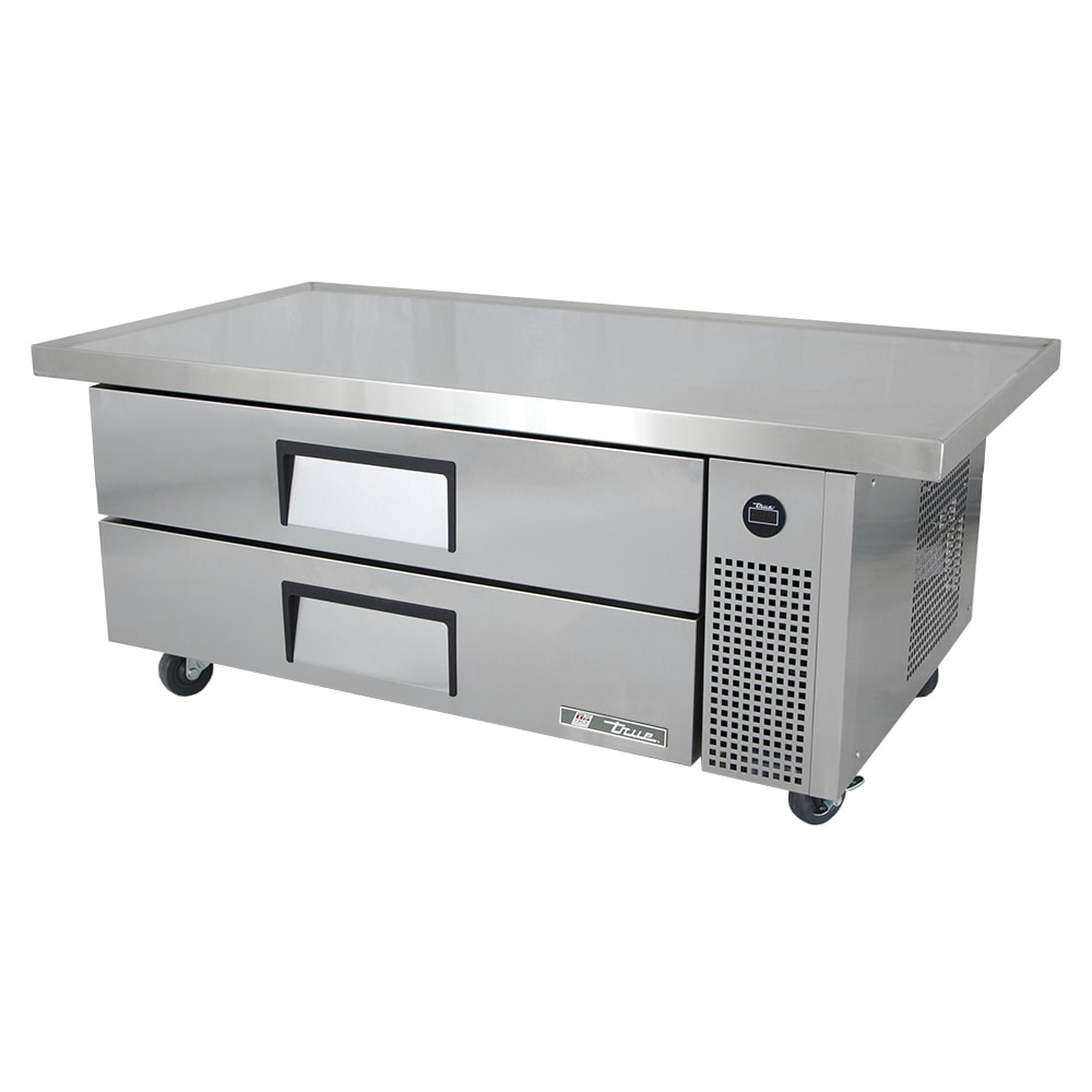 "True TRCB-52-60 60"" Chef Base w/ (2) Drawers - 115v"