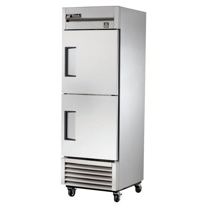 "True TS-23F-2-HC 27"" Single Section Reach-In Freezer, (2) Solid Door, 115v"