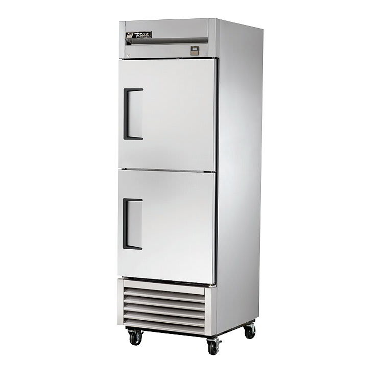 "True TS-23F-2-HC 27"" One Section Reach-In Freezer, (2) Solid Doors, 115v"