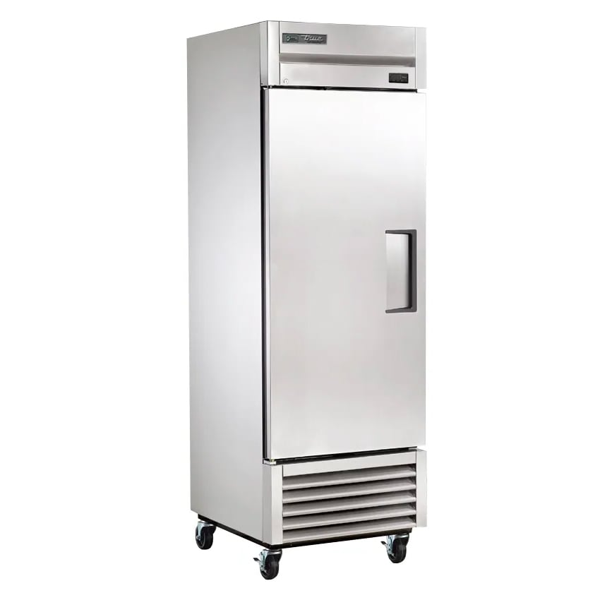 "True TS-23-HC LH 27"" Single Section Reach-In Refrigerator, (1) Left-Hinged Solid Door, 115v"