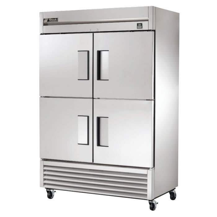 "True TS-49F-4-HC 54.13"" Two Section Reach-In Freezer, (4) Solid Doors, 115v"